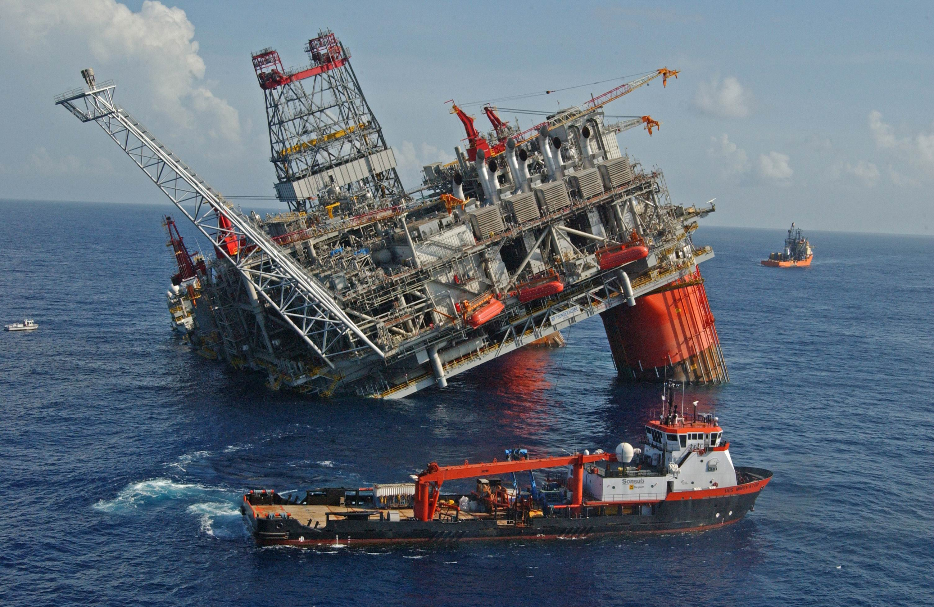 Box To Contain Oil Spill In Gulf Has Been Placed Over Leak