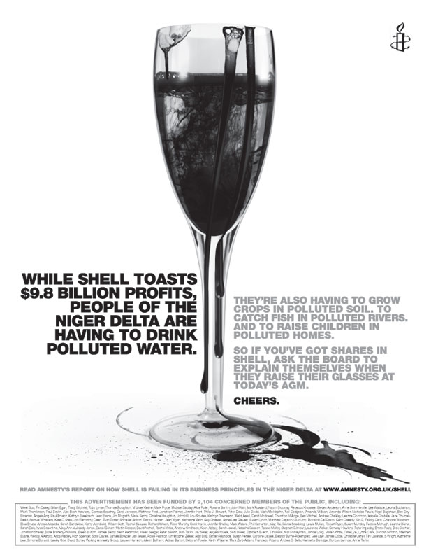 Financial Times Pulls Anti-Shell Advert - Oil Change ...