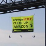 Chevron banner drop