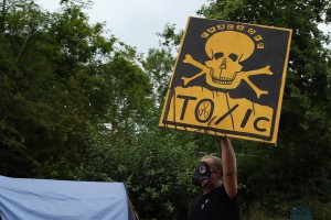 Protests Continue At The West Sussex Fracking Site