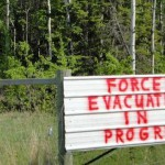 tar sands - evacuation
