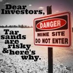 risky tar sands