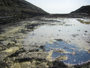 tar sands test mine