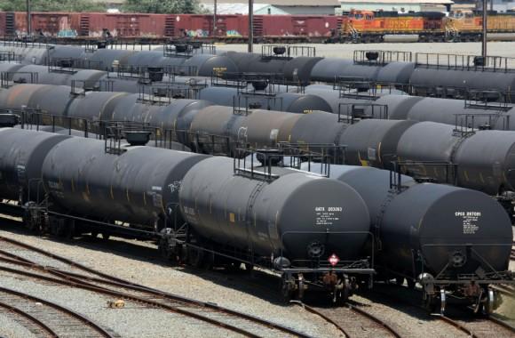 Crude-by-rail