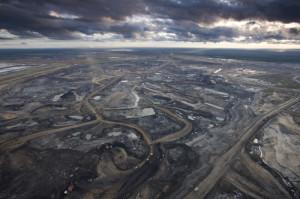 Syncrude Aurora Tar Sands Mine, Canada.