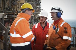 Cameron - oil rig