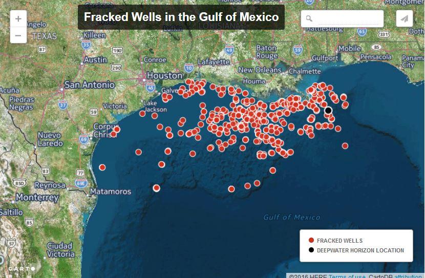 US Secretly Approves Hundreds of Offshore Fracking Wells