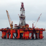 North Sea drilling rig. Credit: Erik Christensen