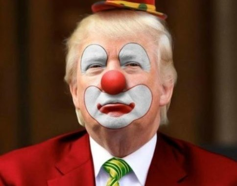 donald the clown