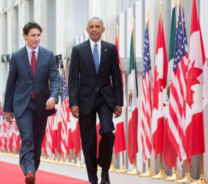 "President Obama & Justin Trudeau"" by Presidencia de la República Mexicana is licensed under CC BY 2.0"