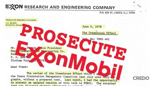 #ExxonKnew Trial Starts in New York