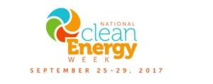 Screengrab of National Clean Energy Week website