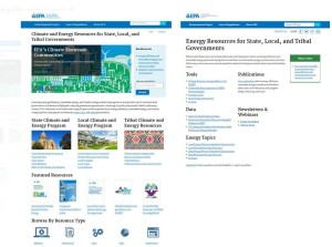 EPA web site