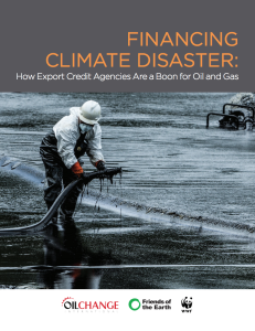 Financing Climate Disaster