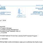 Newsom offshore letter