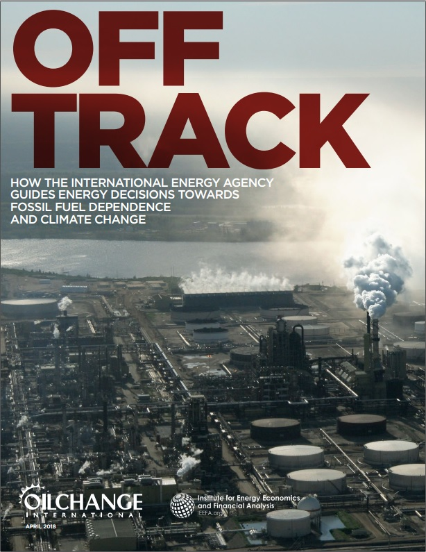 OFF TRACK: The IEA and Climate Change