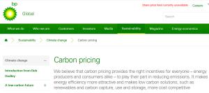 C: Screengrab of BP website