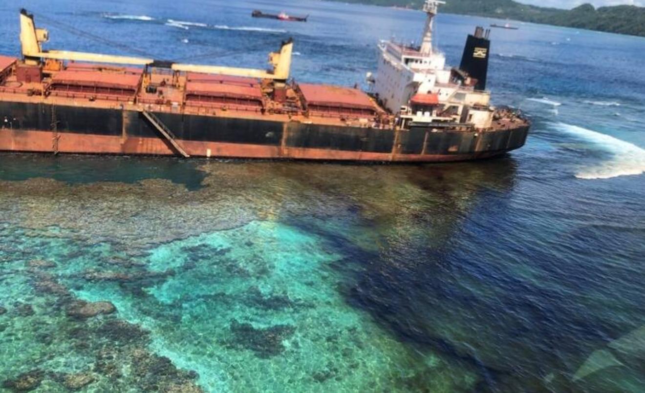 Solomon Islands Oil Spill Threatens World Heritage Site