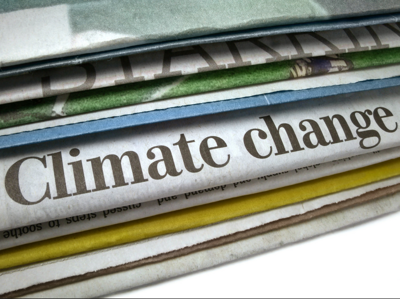 """As civilization accelerates towards disaster, #climatesilence reigns across US news media"" ­­­­­"