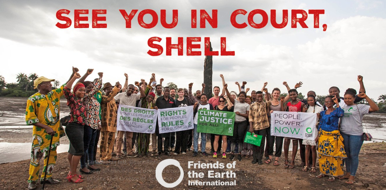 Ground-breaking Legal Case Launched Against Shell Over Climate