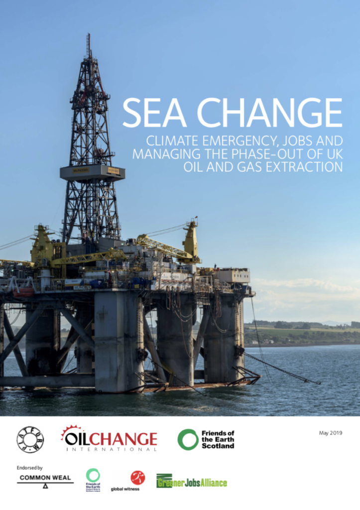 UK oil and gas: climate emergency, jobs and the need for a managed