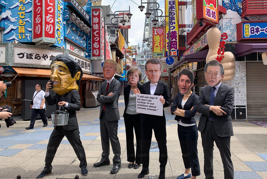 G20: Tens of Thousands Tell Shinzo Abe to #StopFundingCoal