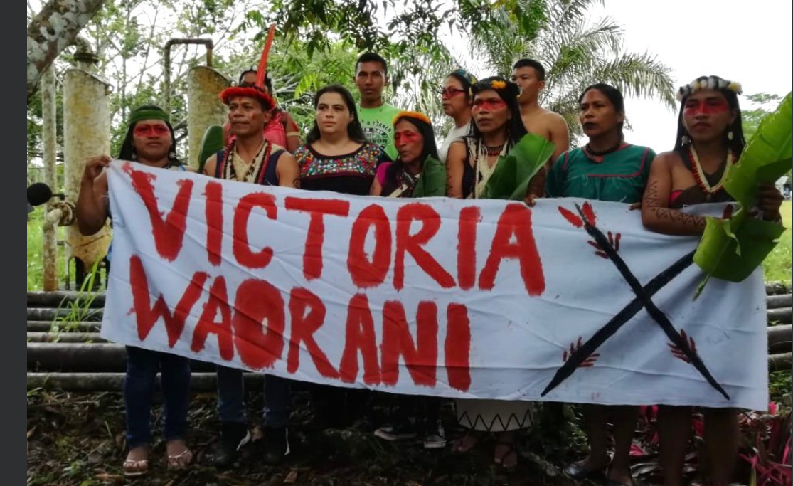 """This victory is for my ancestors. It's for our forest and future generations."""