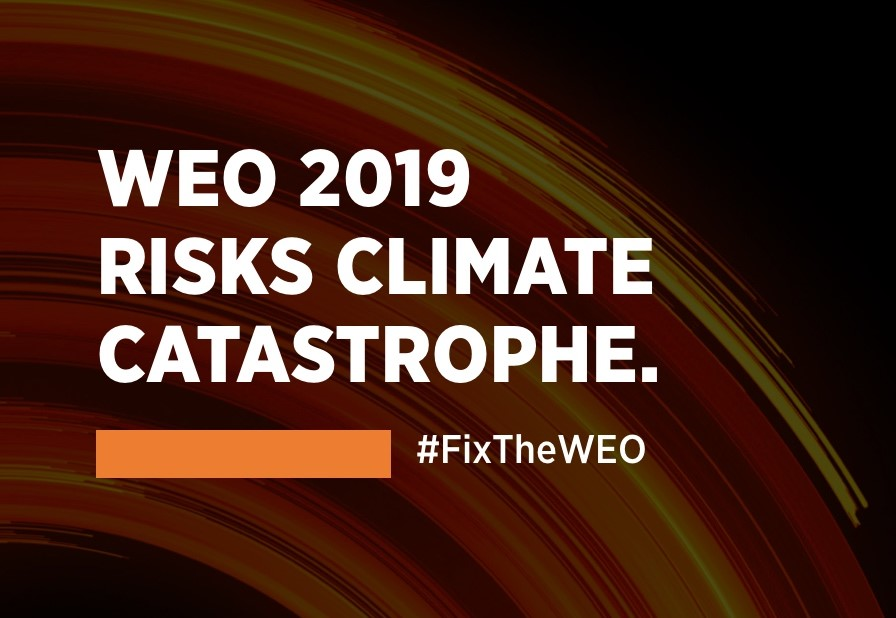 The IEA and WEO 2019: Still working for fossil fuels, not global climate goals