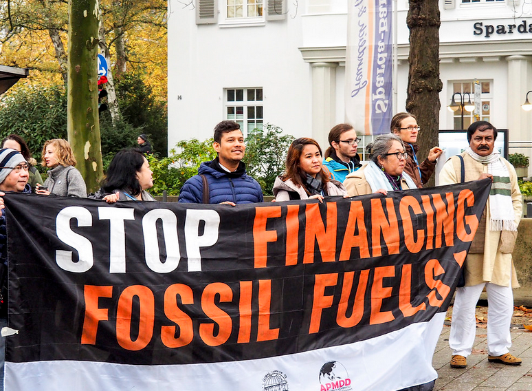 Leading banks have poured $2.7 trillion into fossil fuels since Paris, fueling climate chaos