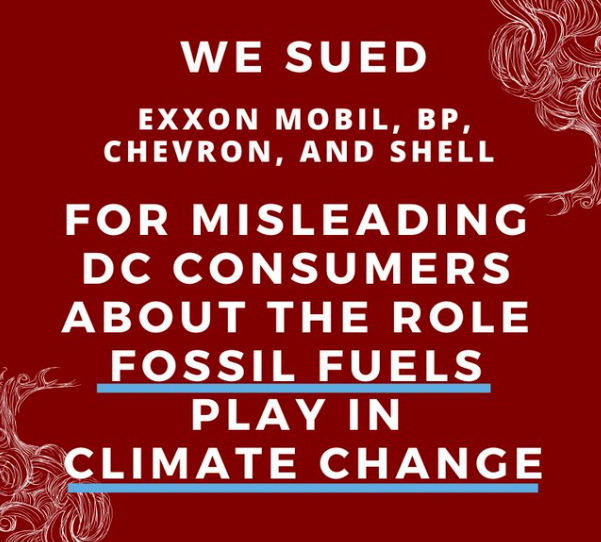 "Both Minnesota and D.C. sue Big Oil for ""campaign of deception"" over climate change"