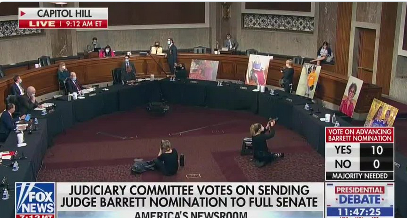 Dark money wins as Senate Judiciary Committee votes for Amy Coney Barrett