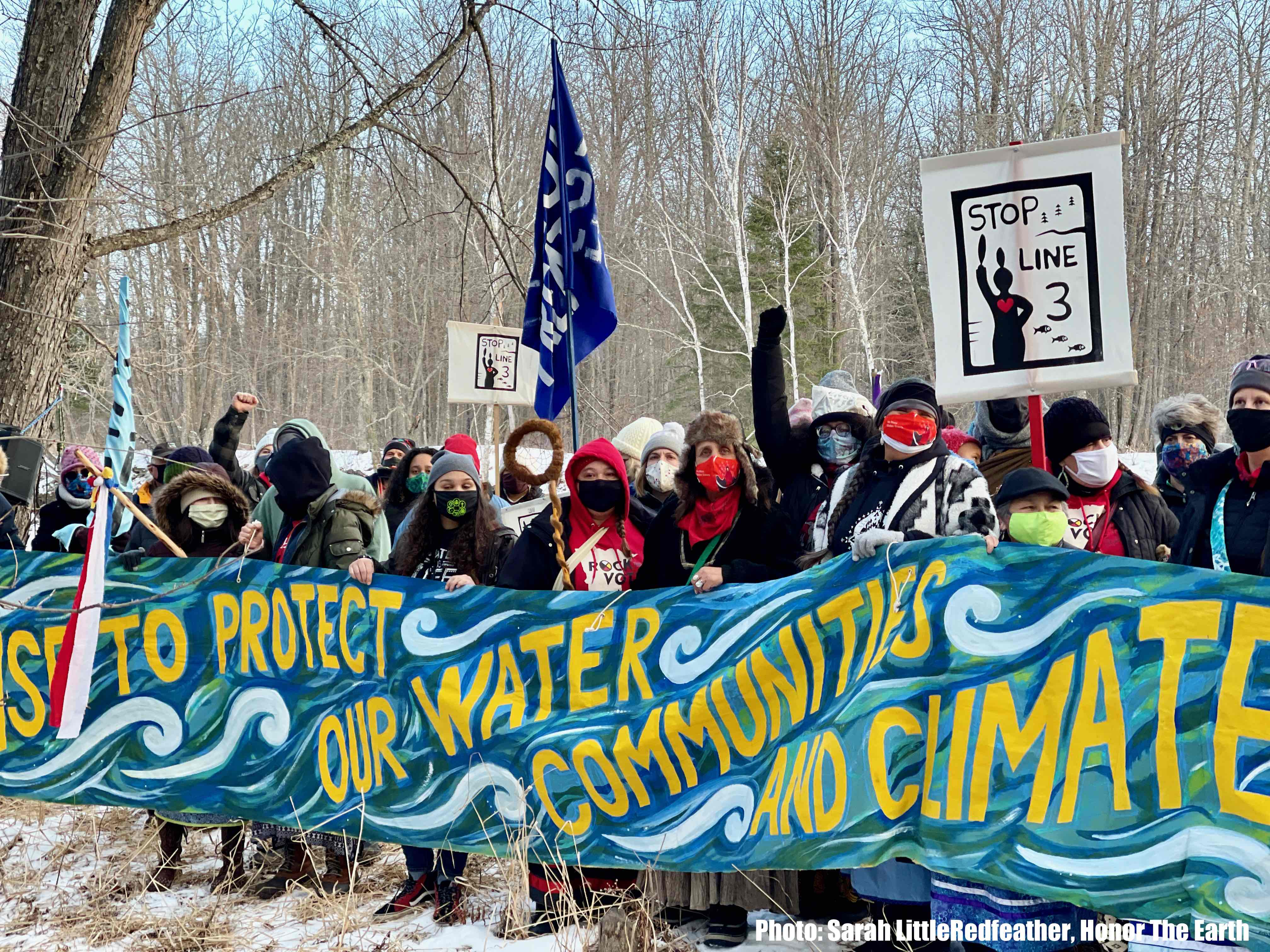Over 350 Groups Urge President Biden to Stop the Line 3 Pipeline and Protect Indigenous Rights, Climate