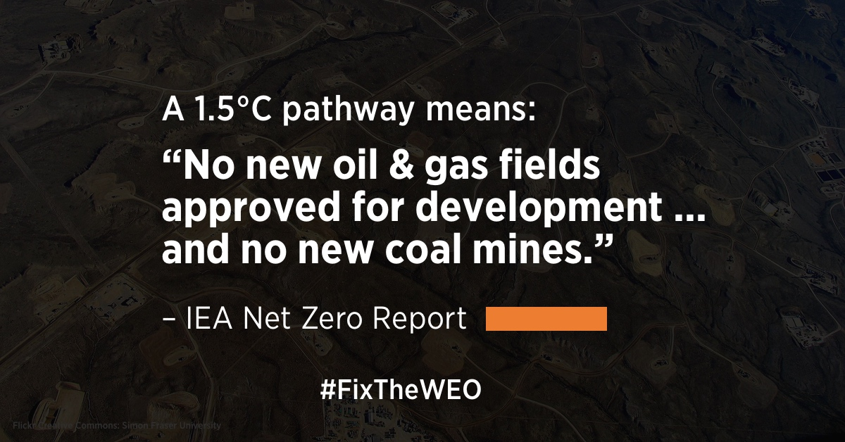 IEA's first 1.5°C model closes the door on new fossil fuel extraction