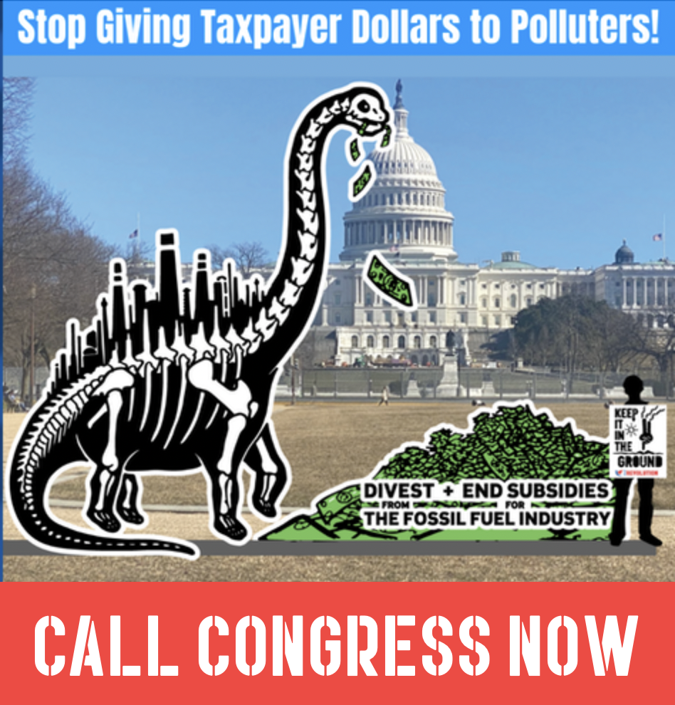 Letter: 500+ Groups Urge U.S. Congress to End Fossil Fuel Subsidies