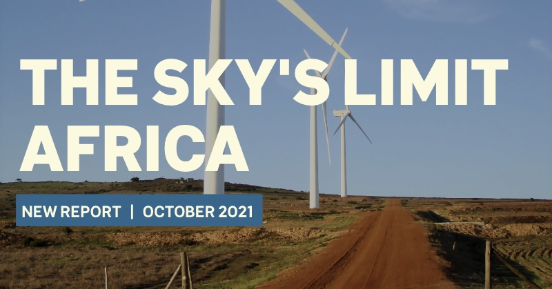 The Sky's Limit Africa: The Case for a Just Energy Transition from Fossil Fuel Production in Africa