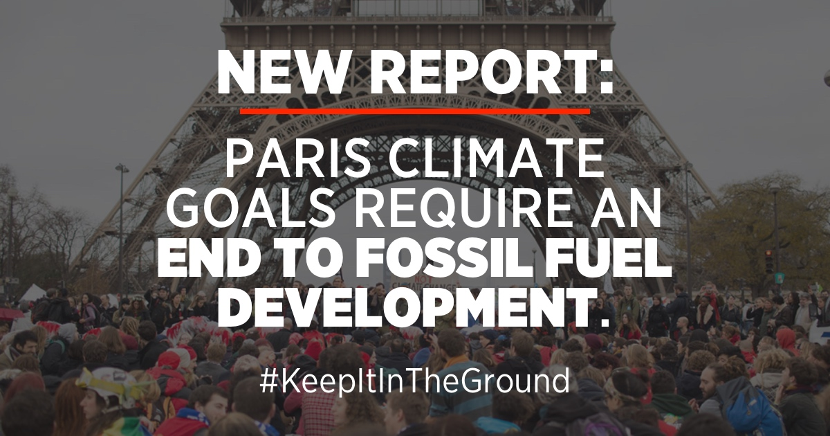 The Sky's Limit: Why the Paris Climate Goals Require a Managed Decline of Fossil Fuel Production