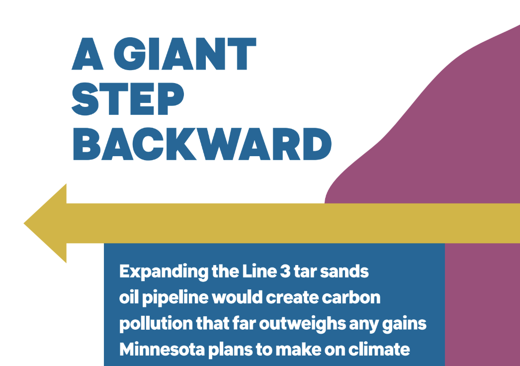 A Giant Step Backward: Carbon Impact of the Line 3 Pipeline