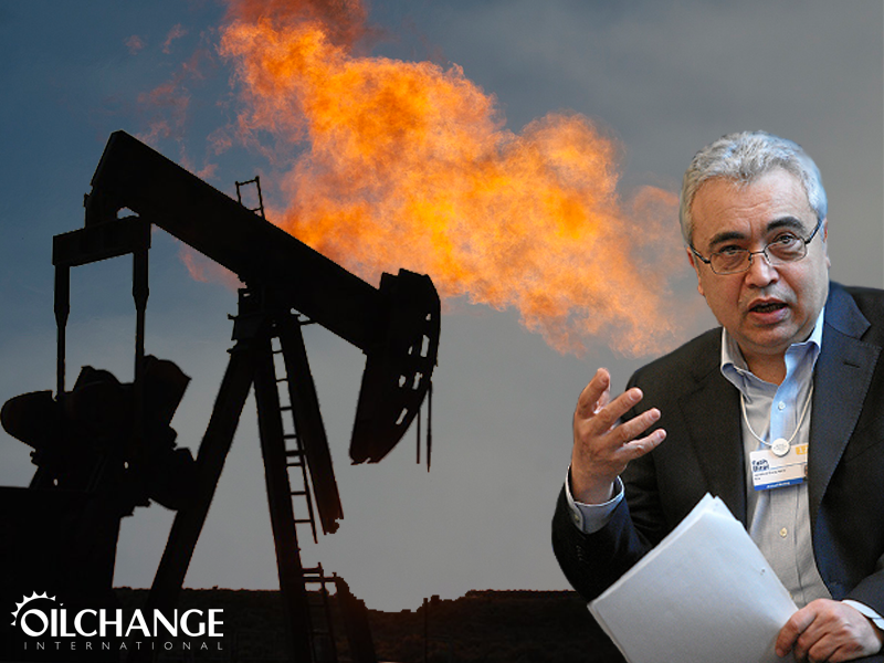 Quiz: Who said what? Big oil, or the IEA?
