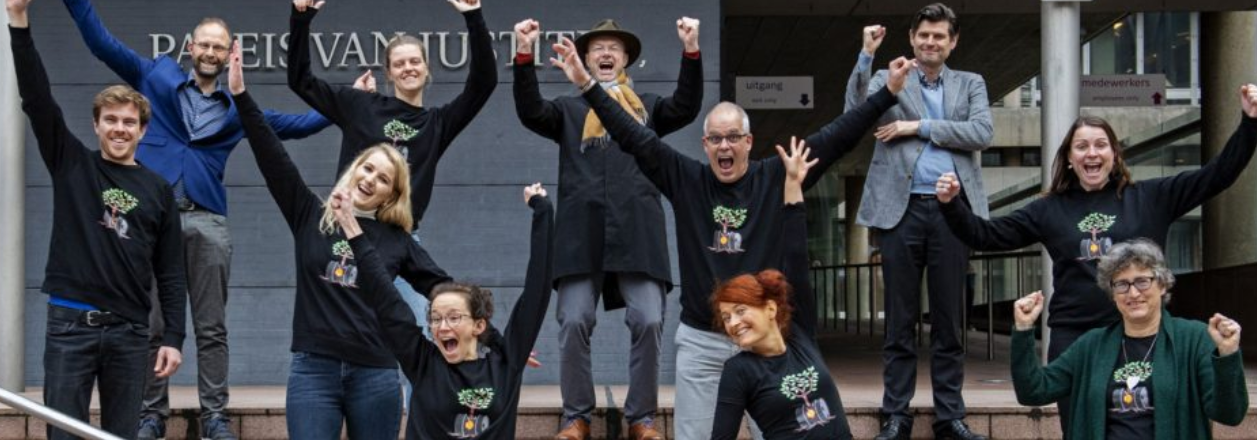 """""""Tears of Joy:"""" Activists Win Landmark Climate Case against Shell in the Netherlands"""