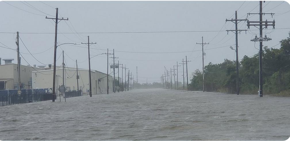 "Devastating Hurricane Ida ""made worse by climate change"""